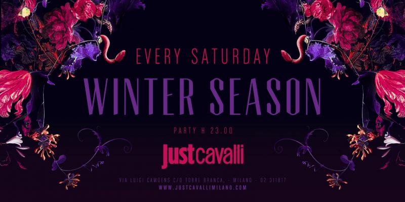 Serata sabato Just Cavalli Hollywood Milano